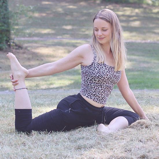 Yoga mit Fußgreifen